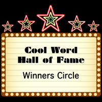 Cool Word Club | Hall of Fame Winners Circle